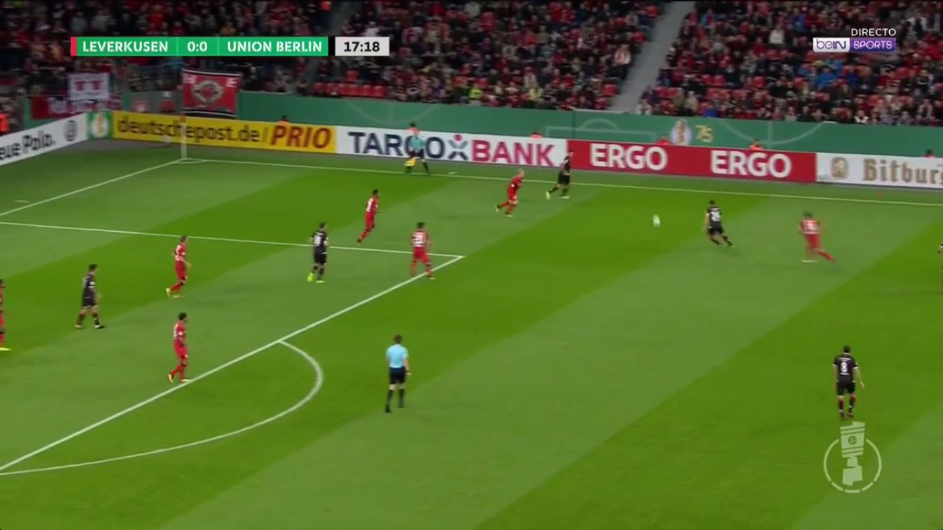 24-10-2017 - Bayer Leverkusen 4-1 Union Berlin (DFB POKAL)