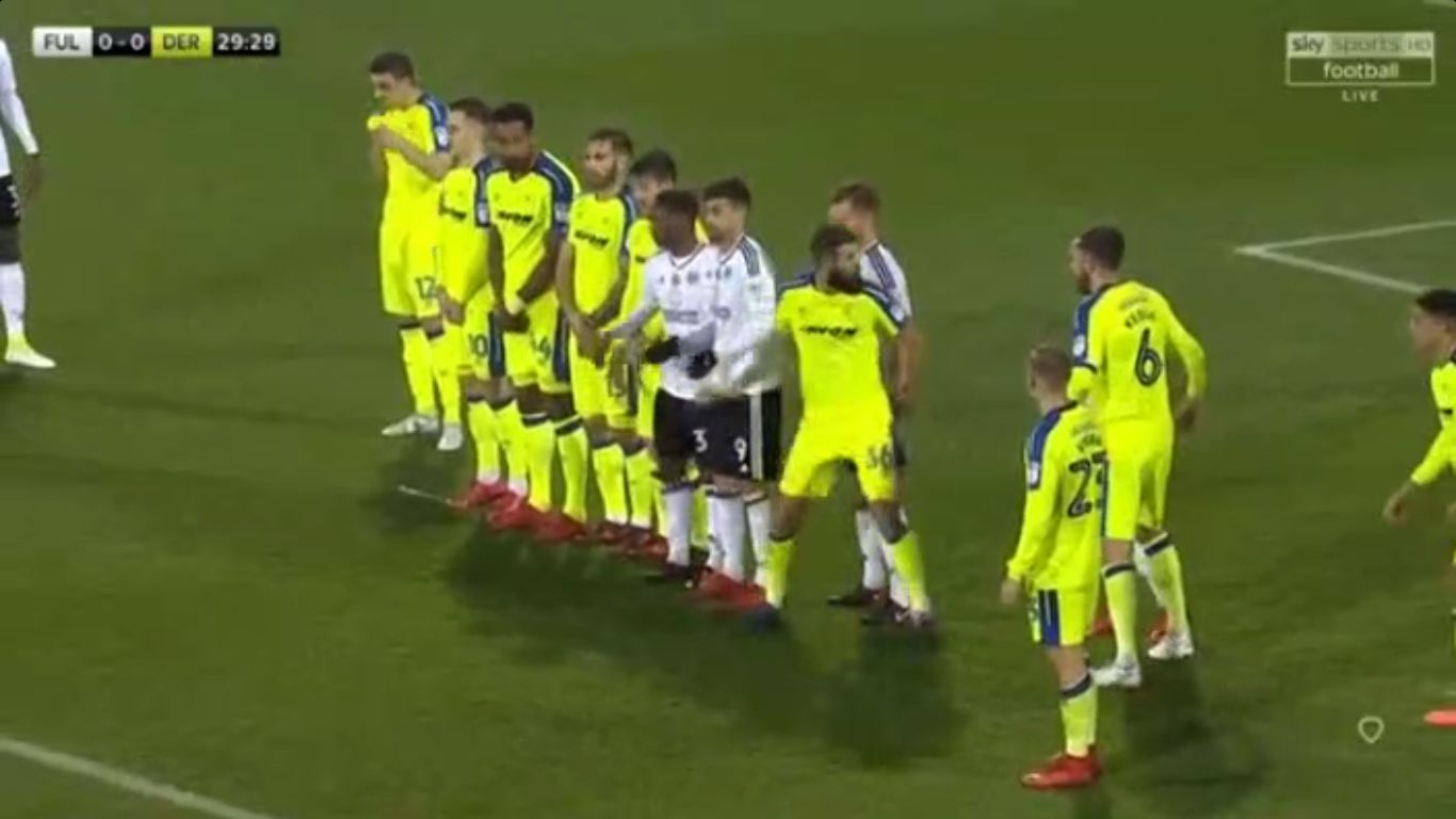 18-11-2017 - Fulham 1-1 Derby County (CHAMPIONSHIP)