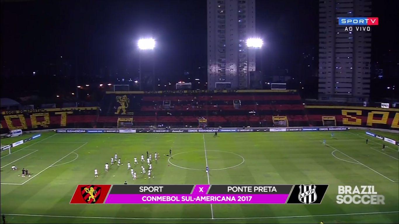 14-09-2017 - Sport Recife 3-1 Ponte Preta (COPA SUDAMERICANA)