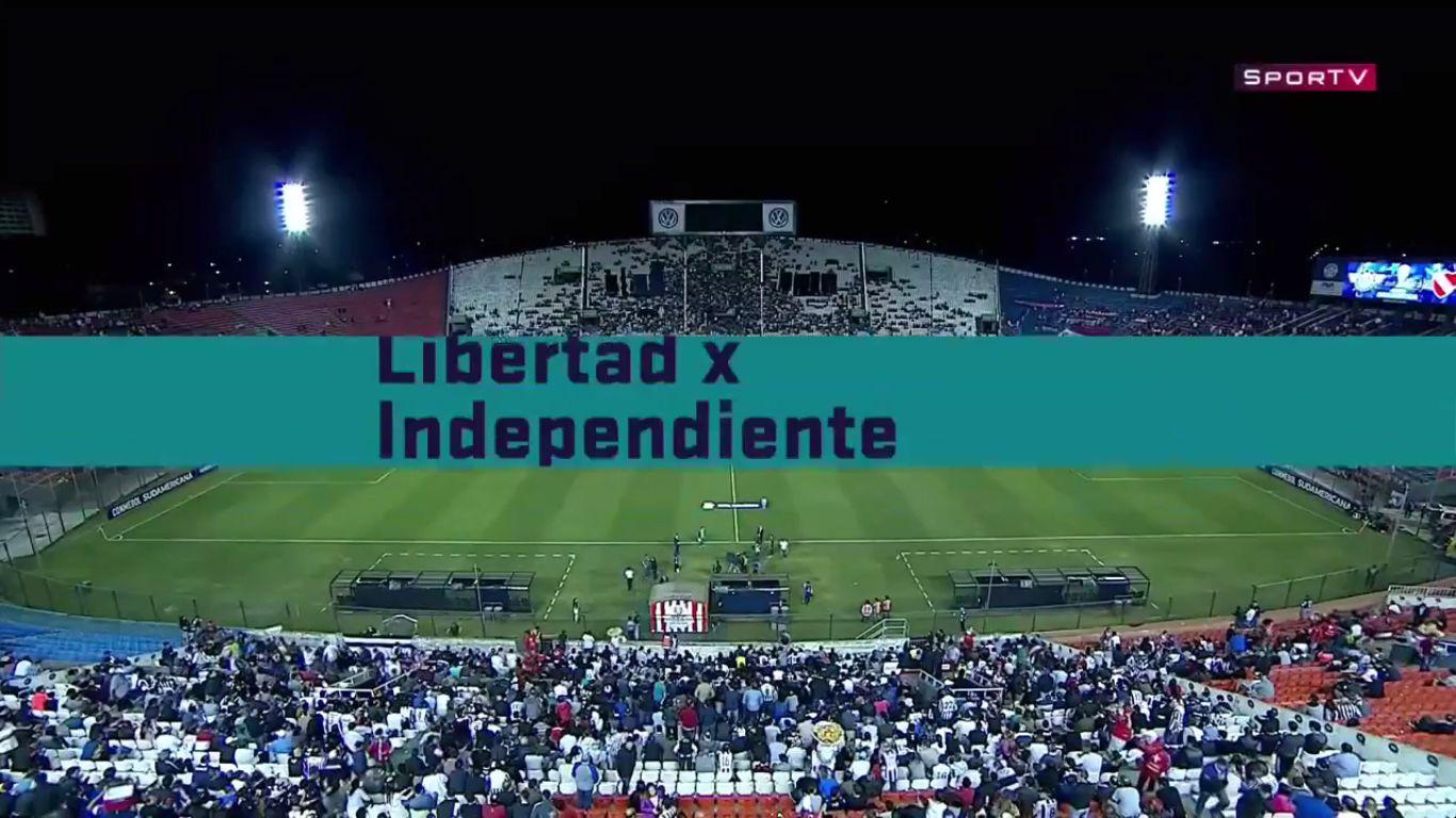 22-11-2017 - Libertad 1-0 Independiente (COPA SUDAMERICANA)