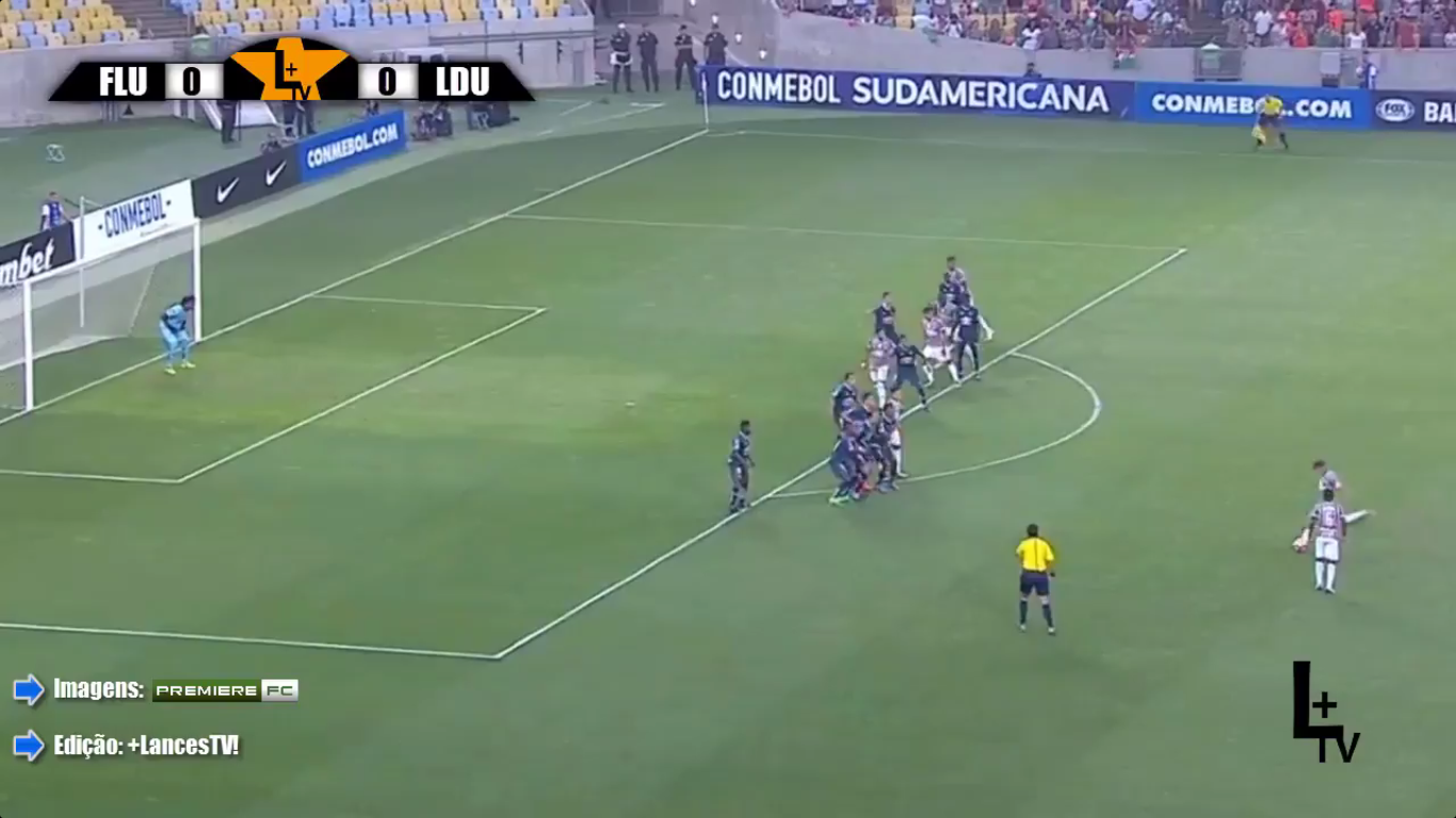 15-09-2017 - Fluminense 1-0 LDU de Quito (COPA SUDAMERICANA)