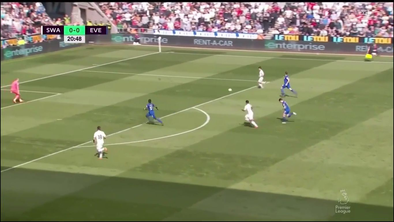 14-04-2018 - Swansea City 1-1 Everton