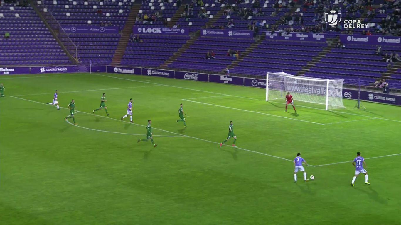 25-10-2017 - Valladolid 1-2 Leganes (COPA DEL REY)