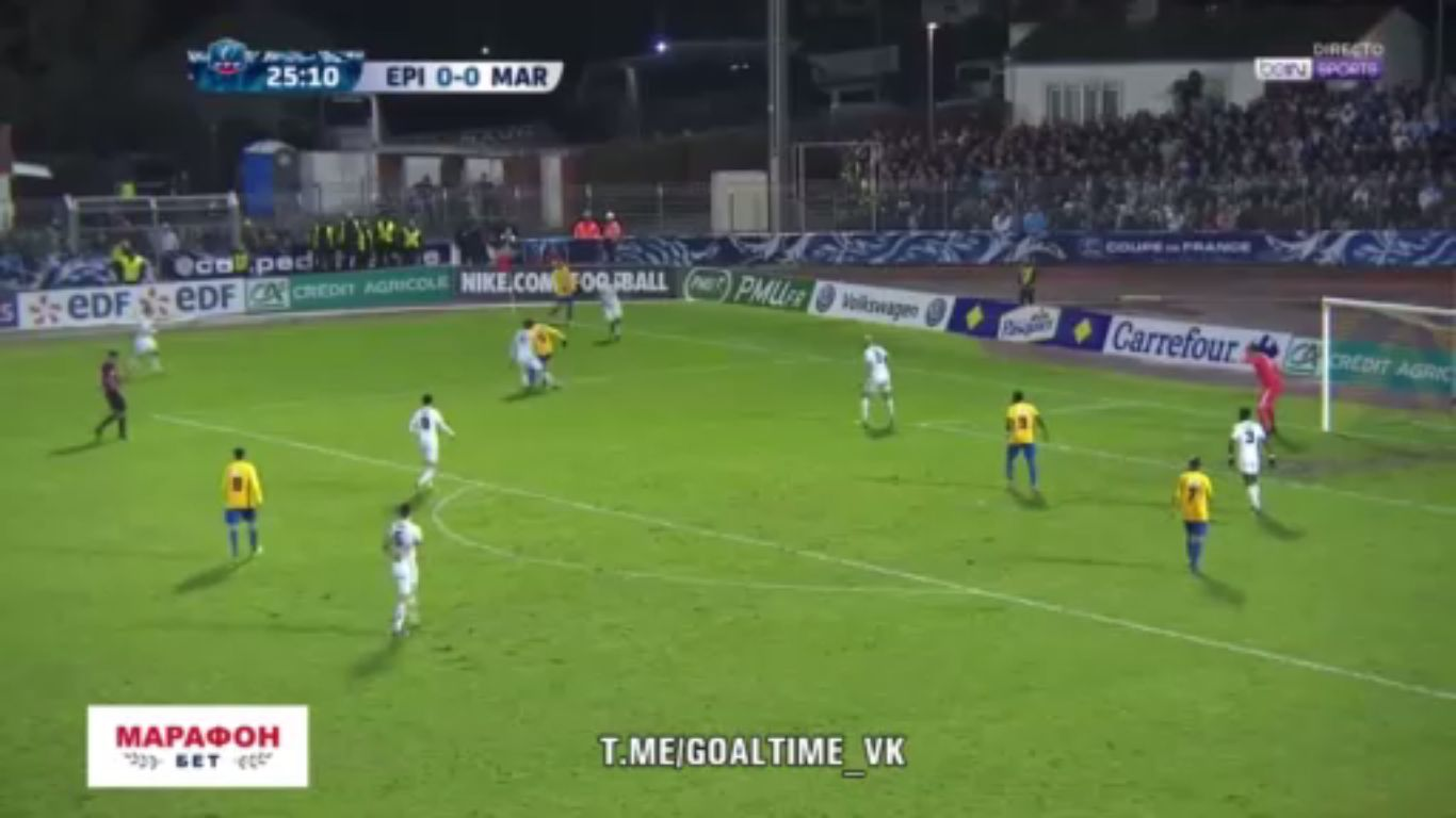 23-01-2018 - Epinal 0-2 Marseille (COUP DE FRANCE)