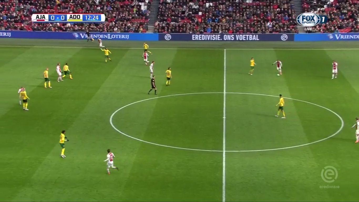 25-02-2018 - Ajax 0-0 ADO Den Haag