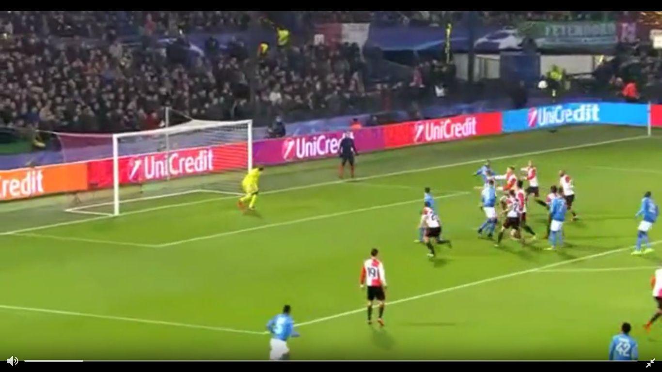 06-12-2017 - Feyenoord 2-1 SSC Napoli (CHAMPIONS LEAGUE)