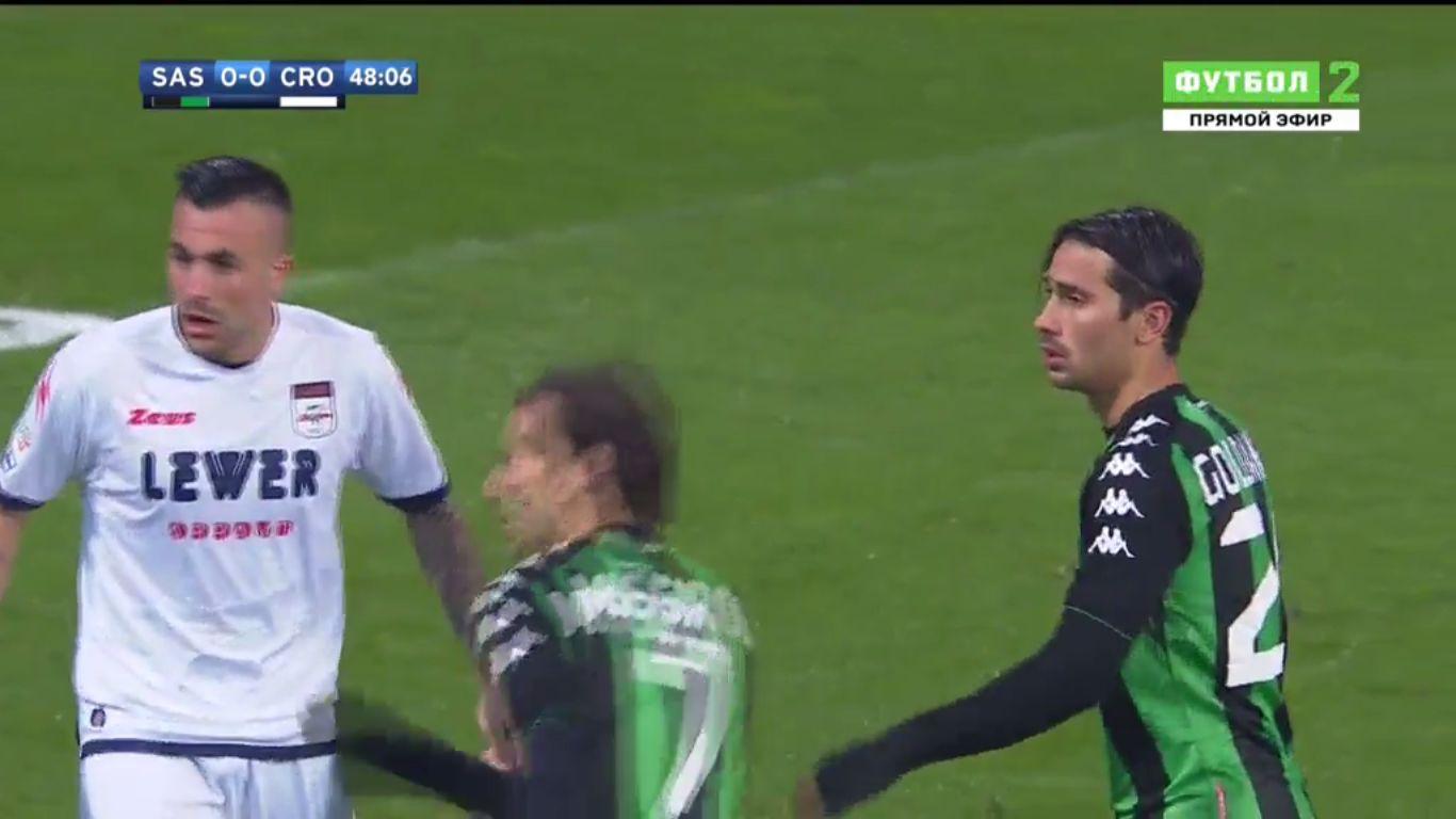 10-12-2017 - Sassuolo 2-1 Crotone
