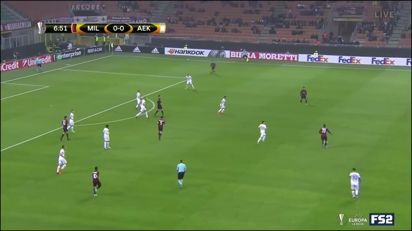 19-10-2017 - AC Milan 0-0 AEK Athens (EUROPA LEAGUE)