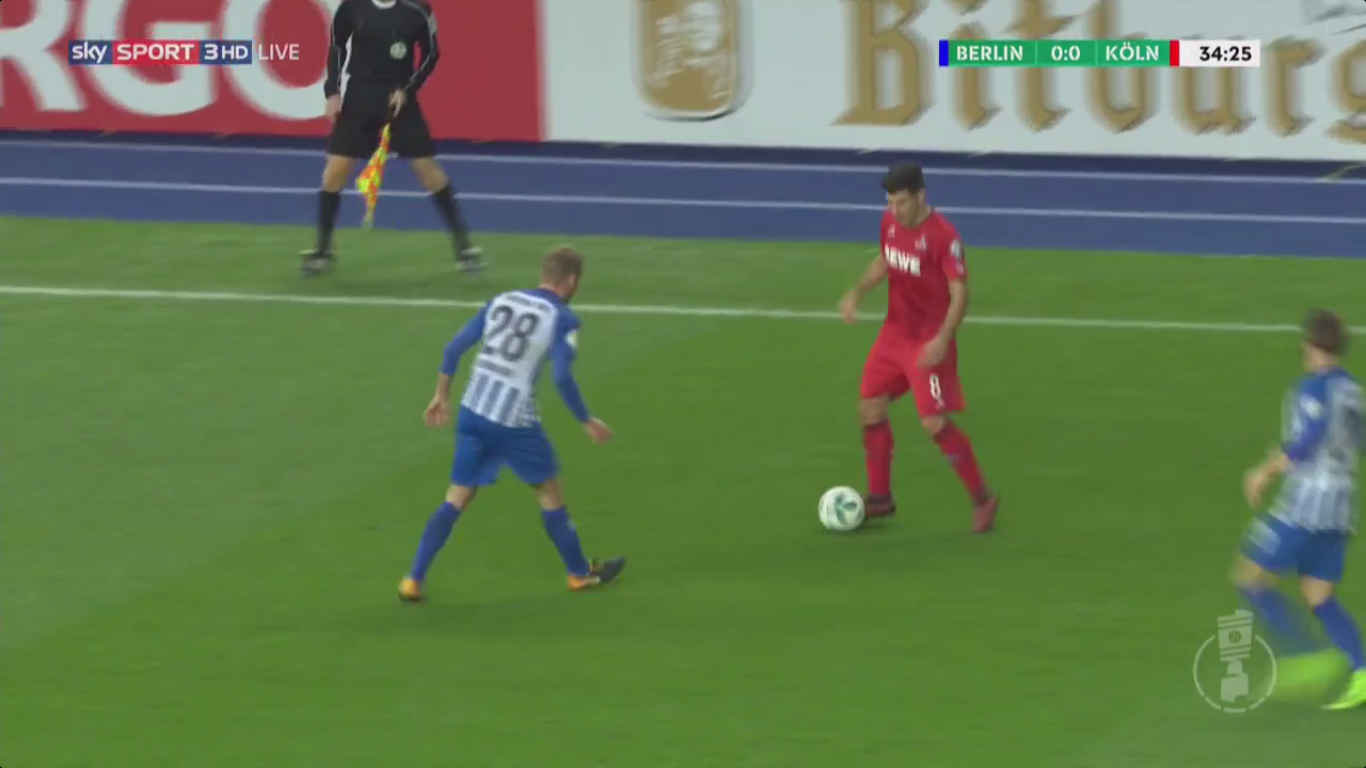 25-10-2017 - Hertha Berlin 1-3 FC Cologne (DFB POKAL)