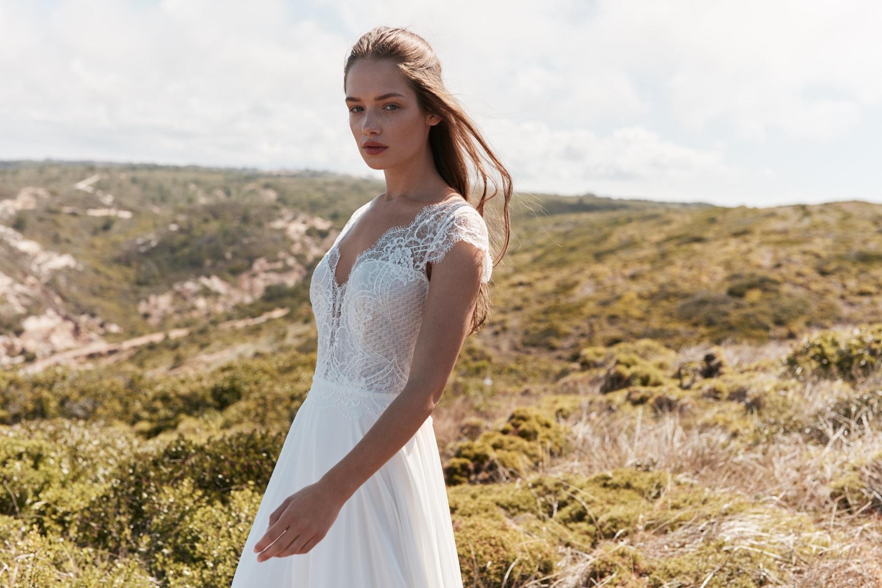 Brautmode aus Seide
