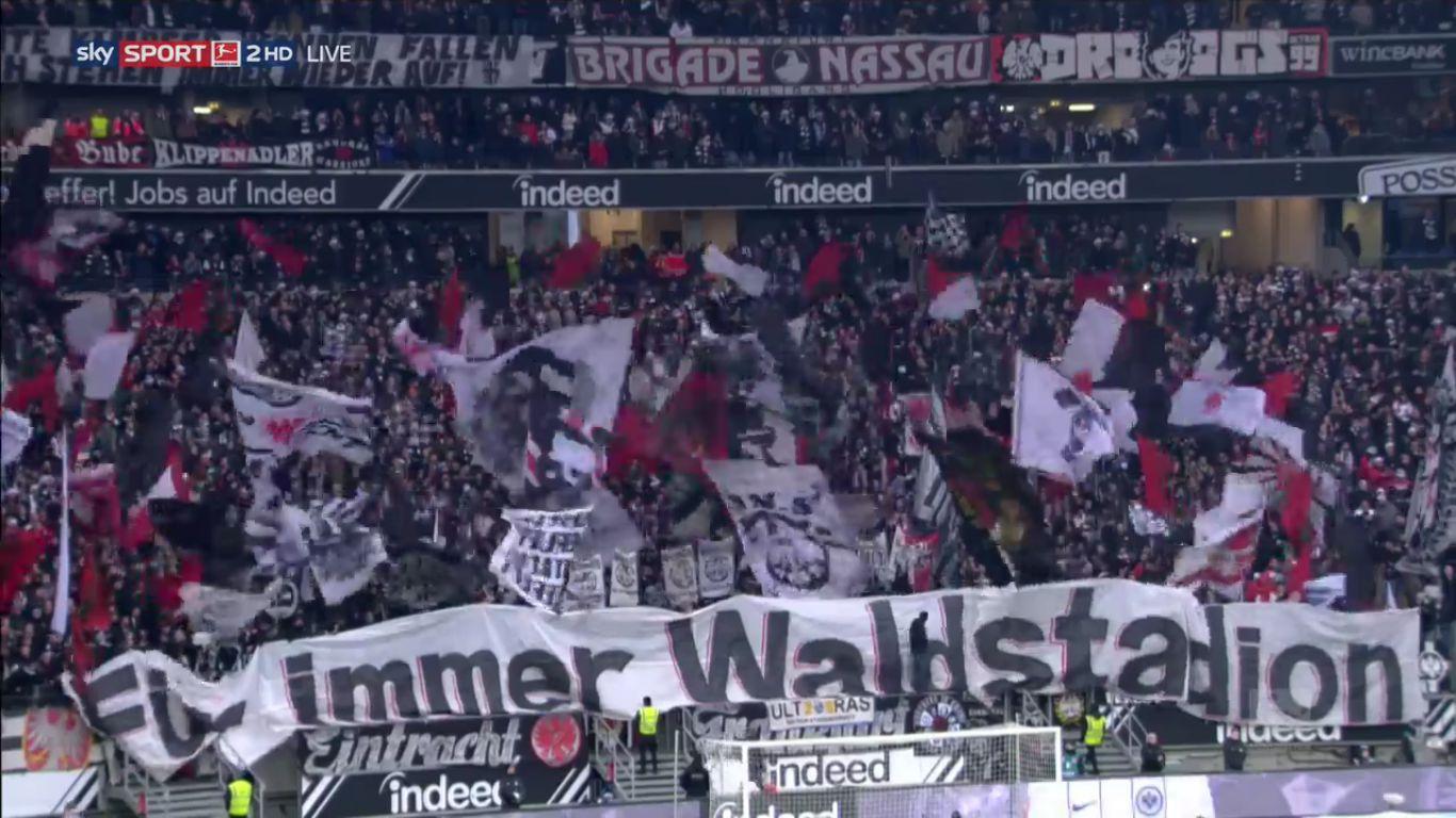 16-12-2017 - Eintracht Frankfurt 2-2 Schalke 04