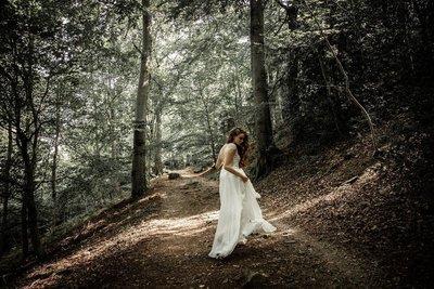 Seidige Brautkleider