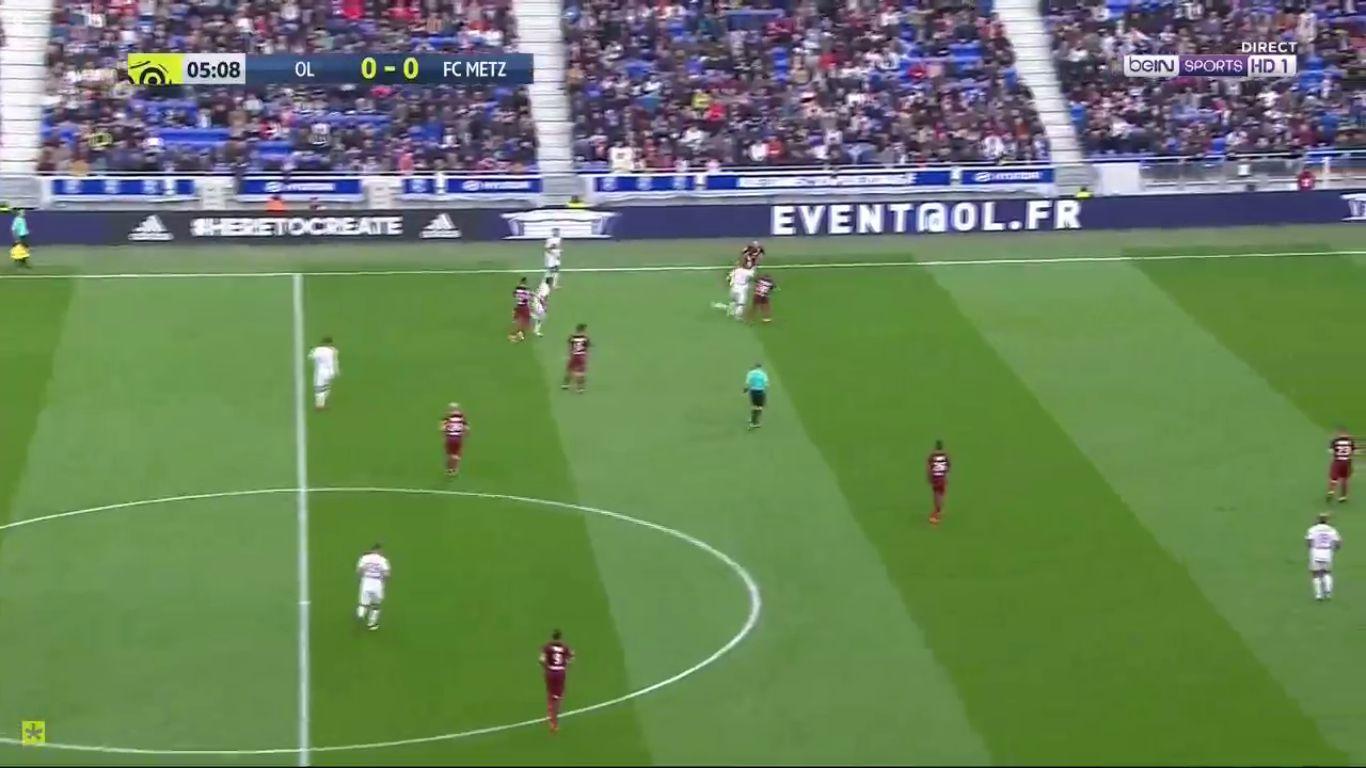 29-10-2017 - Lyon 2-0 Metz