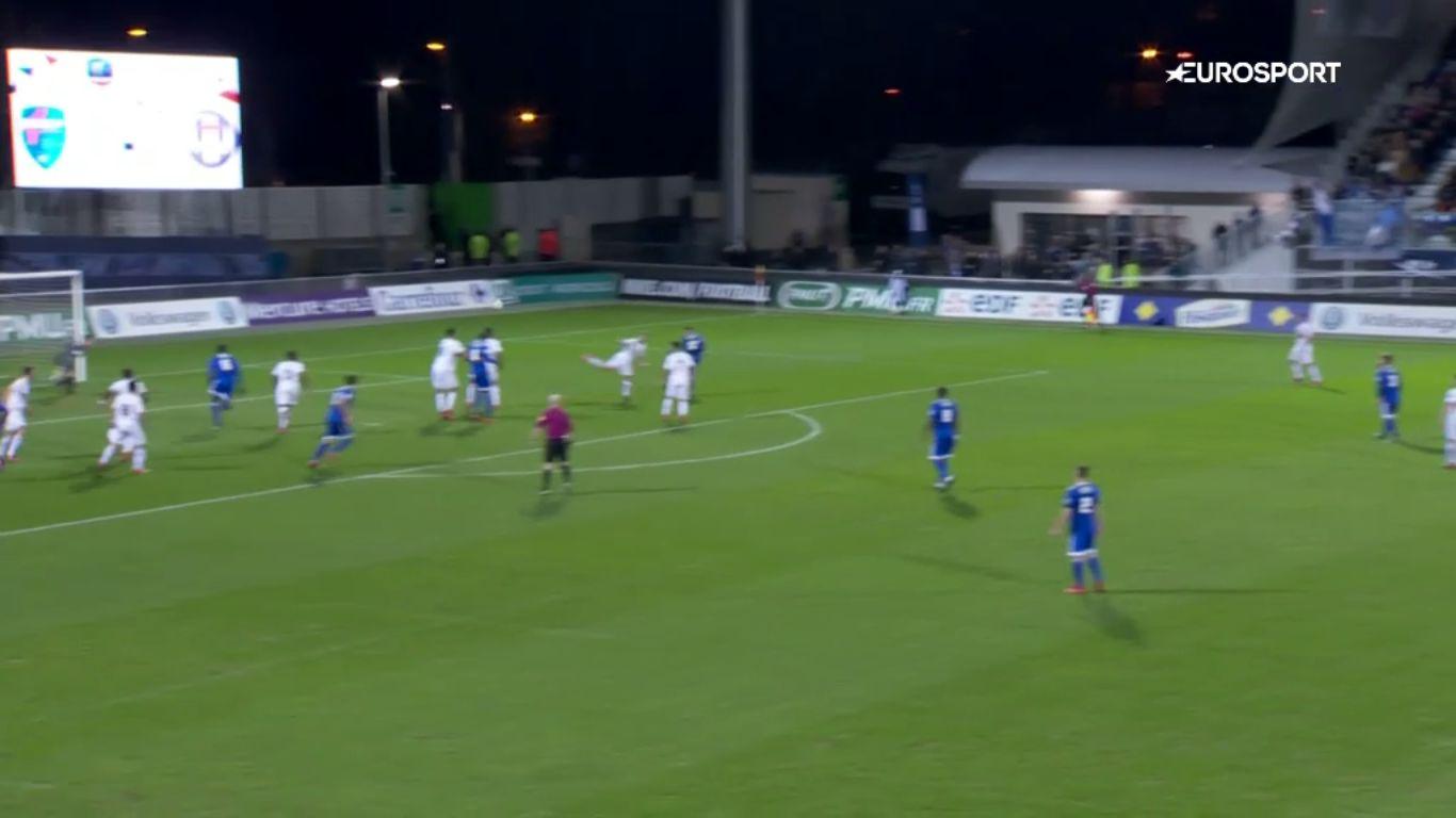23-01-2018 - Bourg en Bresse Peronnas 2-0 Toulouse (COUP DE FRANCE)