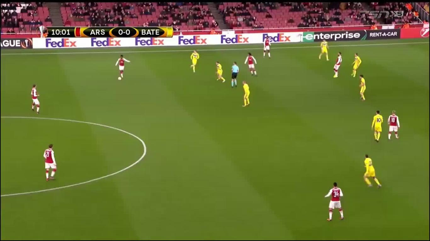 07-12-2017 - Arsenal 6-0 BATE Borisov (EUROPA LEAGUE)