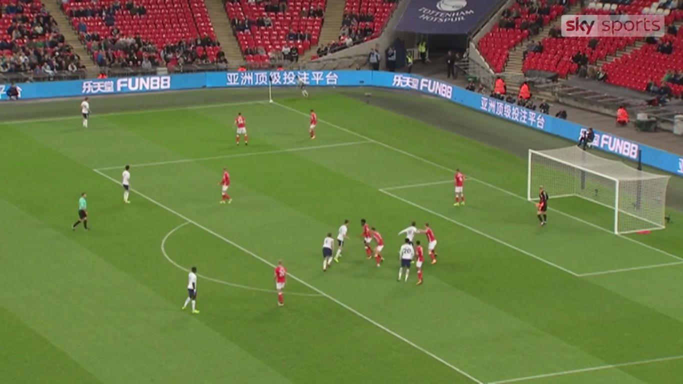 19-09-2017 - Tottenham Hotspur 1-0 Barnsley (EFL CUP)