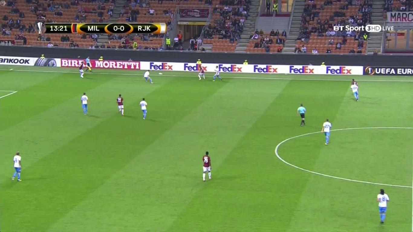 28-09-2017 - AC Milan 3-2 Rijeka (EUROPA LEAGUE)