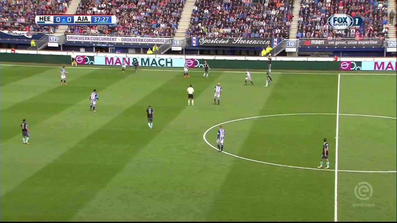 01-10-2017 - SC Heerenveen 0-4 Ajax