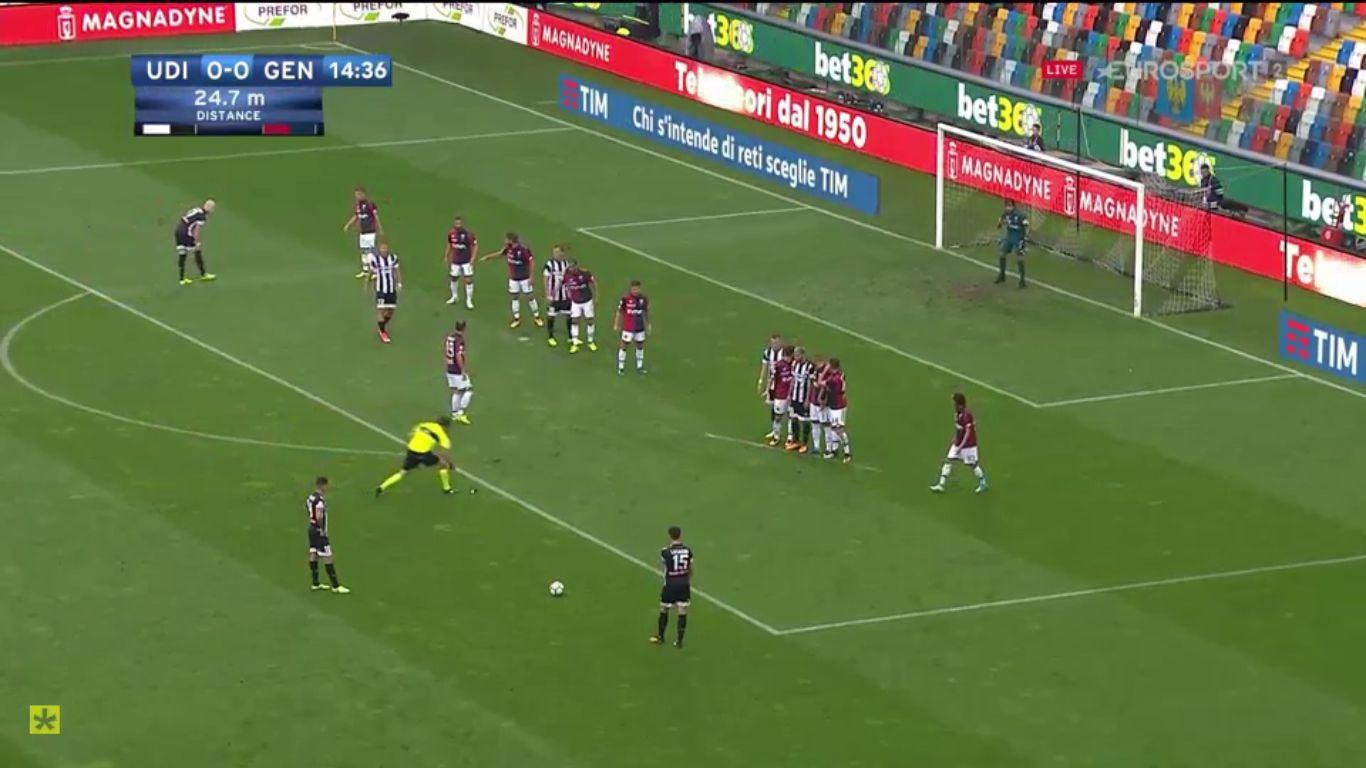 10-09-2017 - Udinese 1-0 Genoa