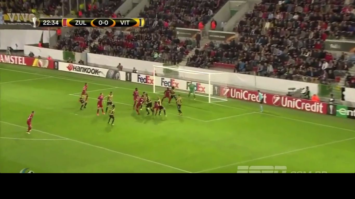 19-10-2017 - Zulte-Waregem 1-1 Vitesse (EUROPA LEAGUE)