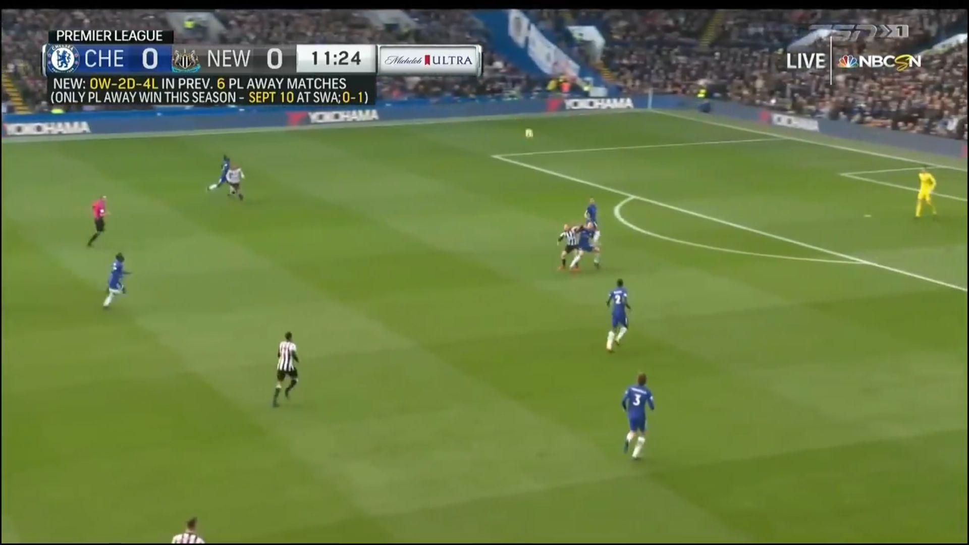 02-12-2017 - Chelsea 3-1 Newcastle United
