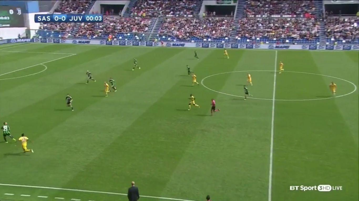 17-09-2017 - Sassuolo 1-3 Juventus