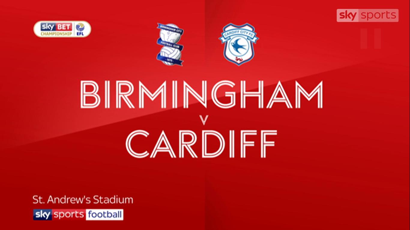 13-10-2017 - Birmingham City 1-0 Cardiff City (CHAMPIONSHIP)
