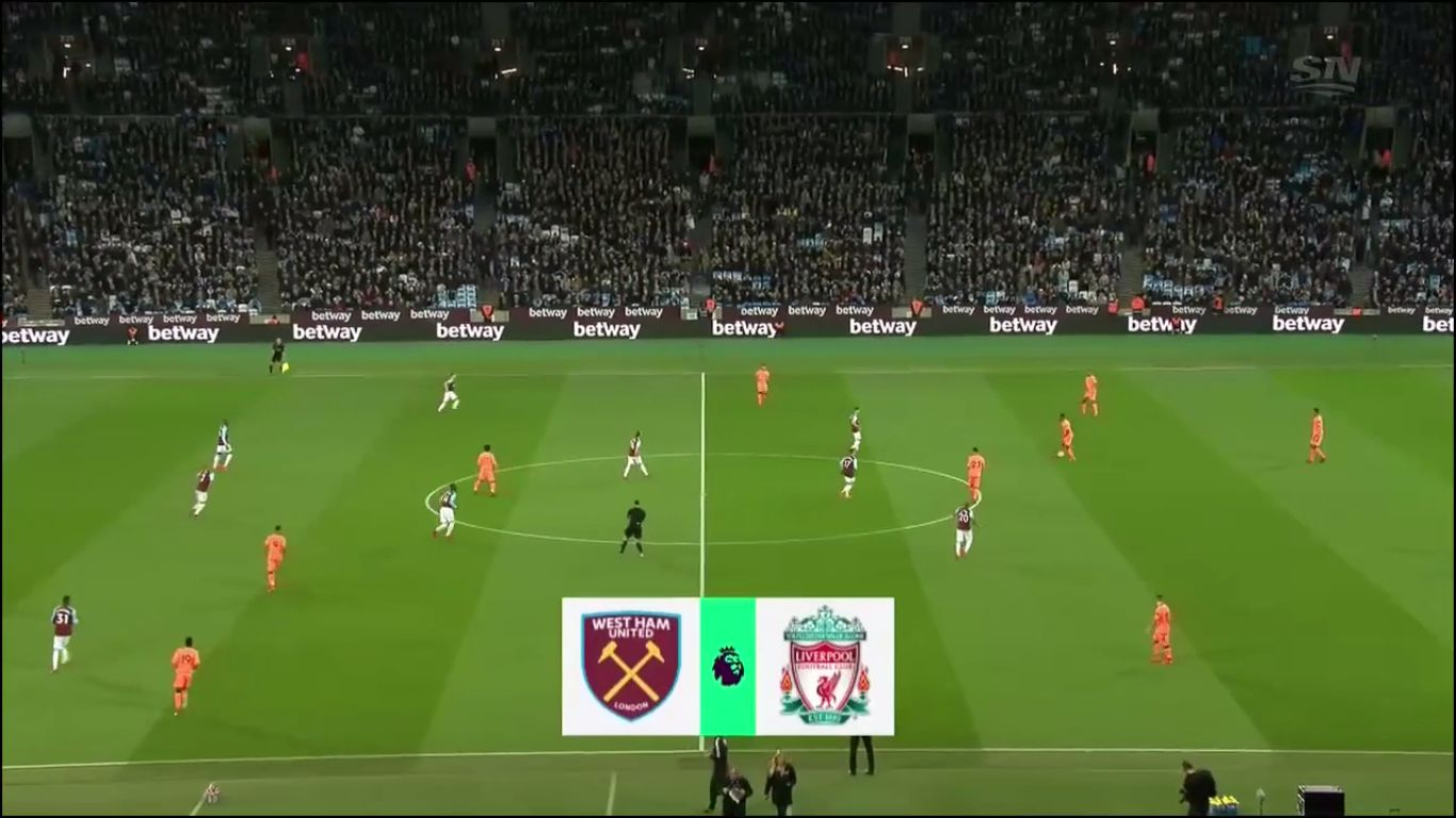 04-11-2017 - West Ham United 1-4 Liverpool