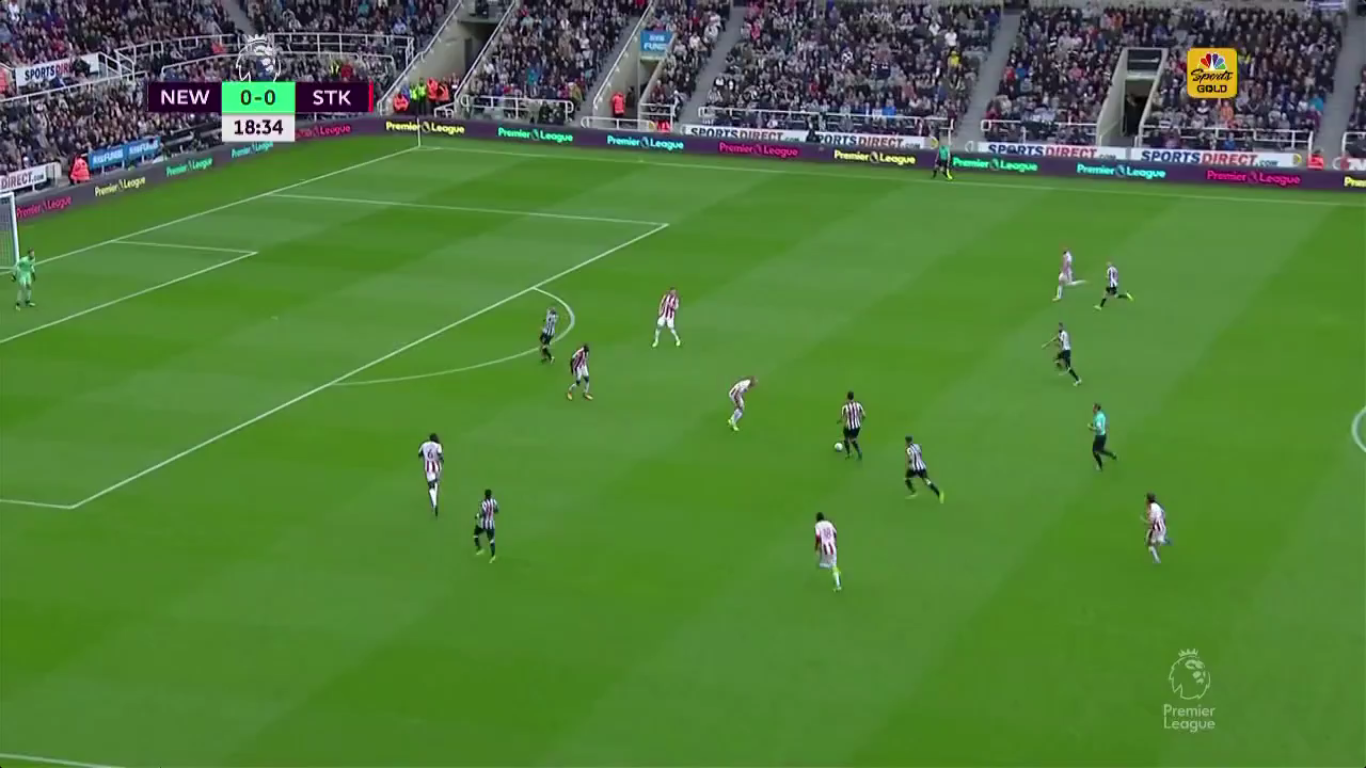 16-09-2017 - Newcastle United 2-1 Stoke City