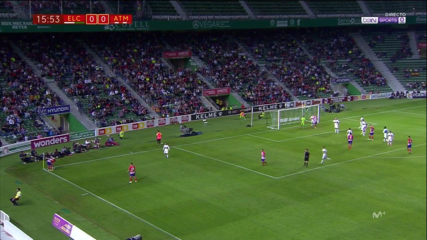 25-10-2017 - Elche 1-1 Atletico Madrid (COPA DEL REY)