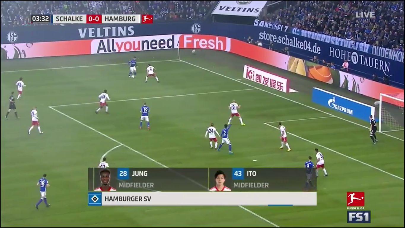 19-11-2017 - Schalke 04 2-0 Hamburger SV