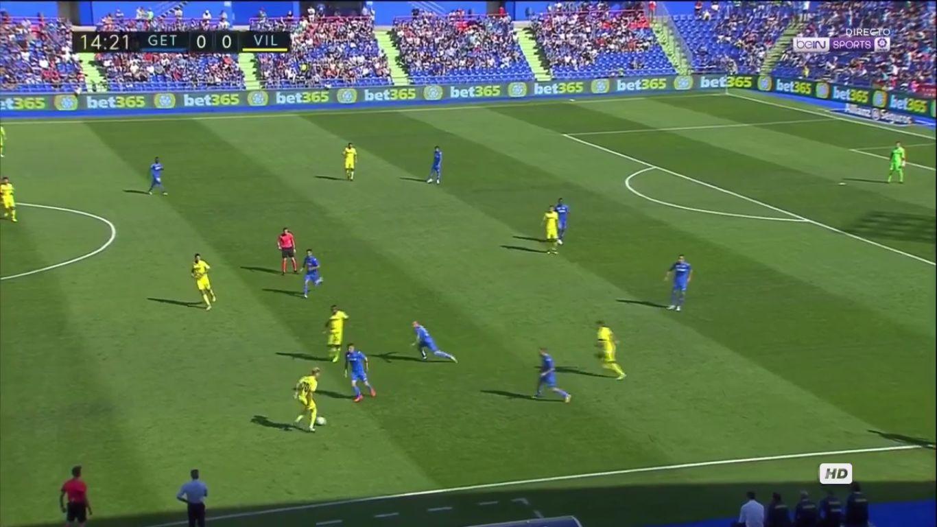 24-09-2017 - Getafe 4-0 Villarreal