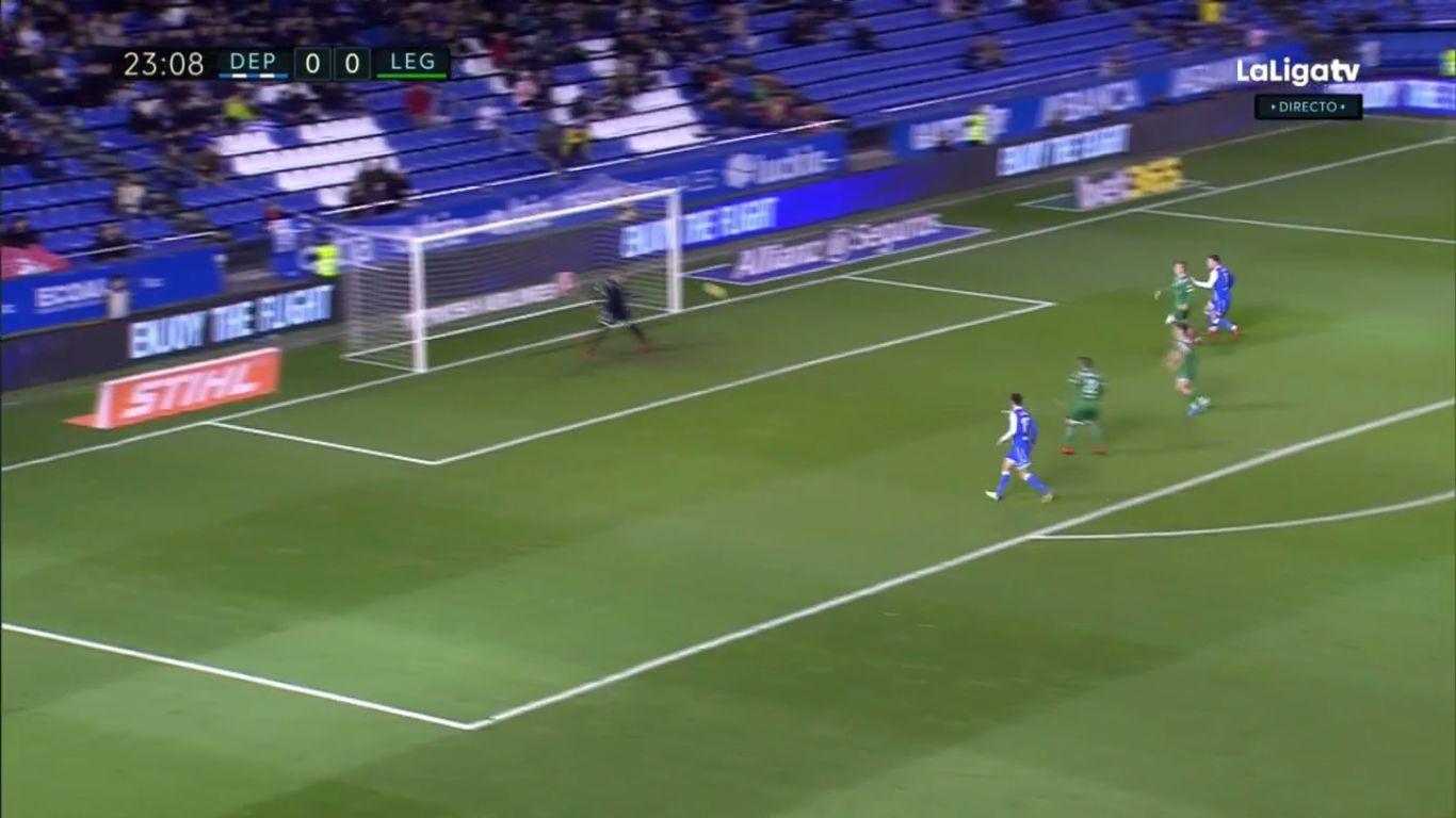 09-12-2017 - Deportivo La Coruna 1-0 Leganes