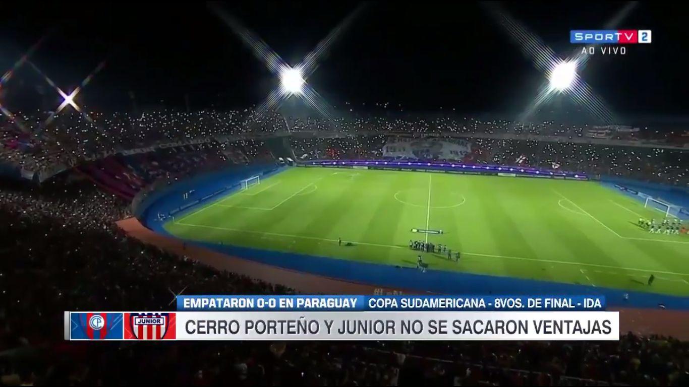 13-09-2017 - Cerro Porteno 0-0 Atletico Junior (COPA SUDAMERICANA)
