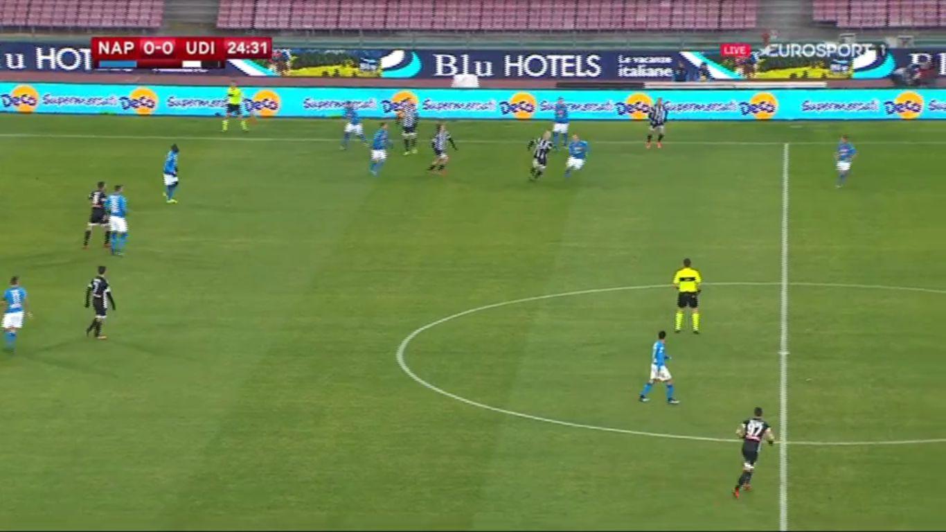 19-12-2017 - SSC Napoli 1-0 Udinese (COPPA ITALIA)