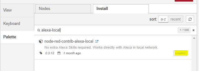 welchen www zugang braucht alexa
