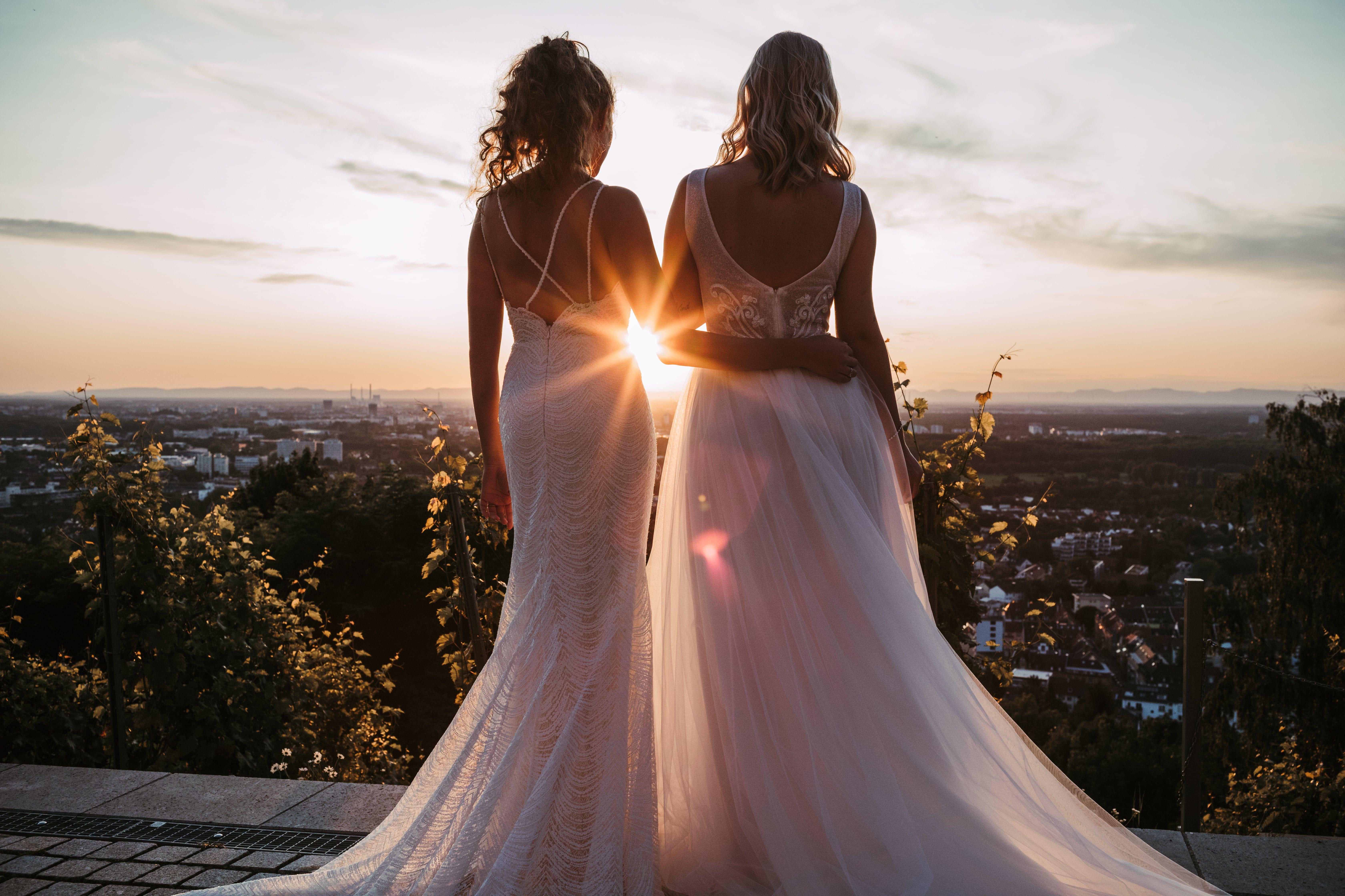 Modernes Brautkleid Bruchsal