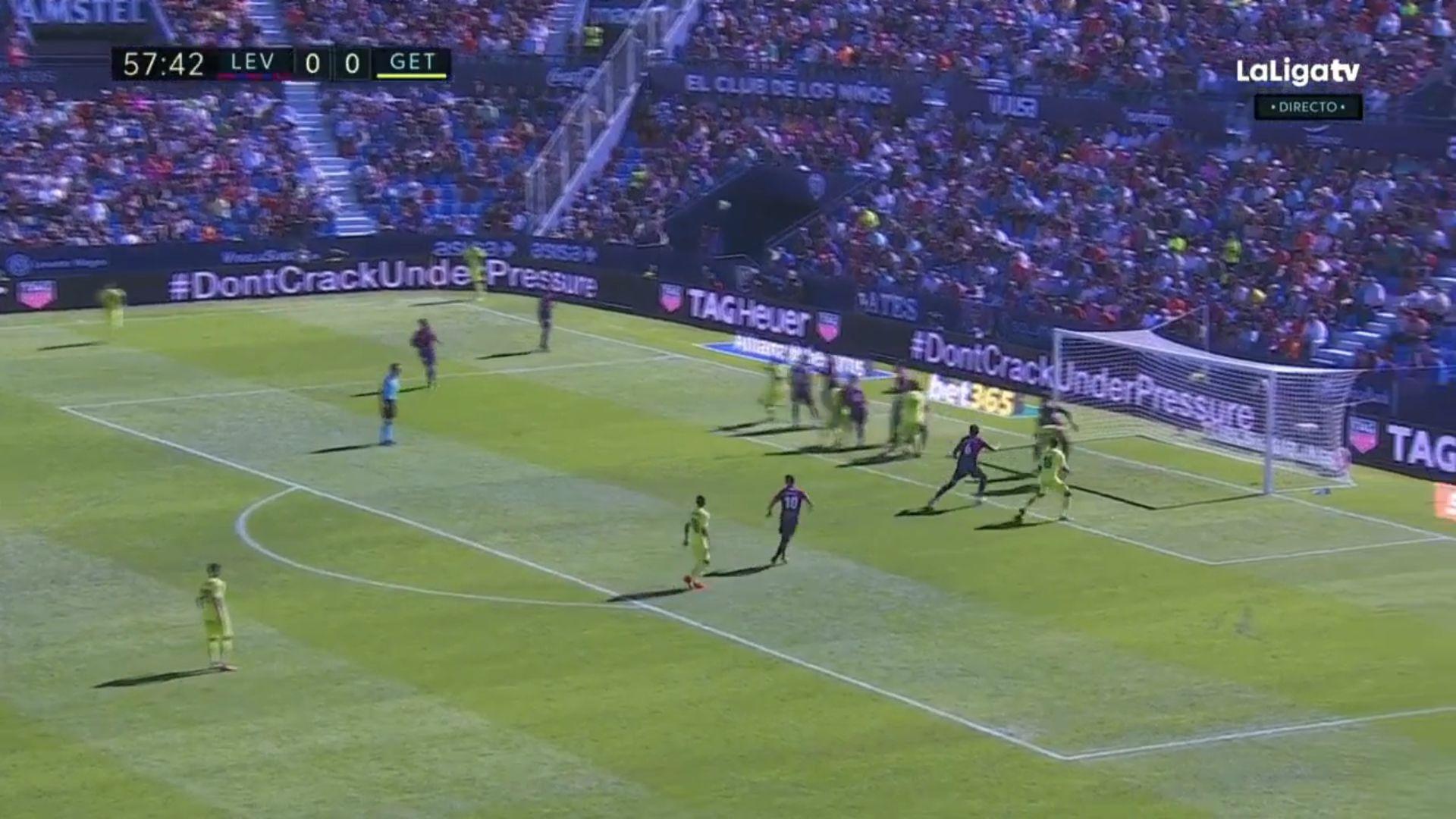 21-10-2017 - Levante 1-1 Getafe