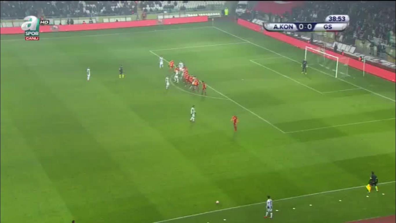01-02-2018 - Konyaspor 2-2 Galatasaray (ZIRAAT CUP)