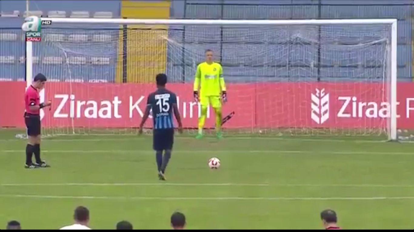 24-10-2017 - Sariyer 2-2 (1-3 PEN.) Adana Demirspor (ZIRAAT CUP)