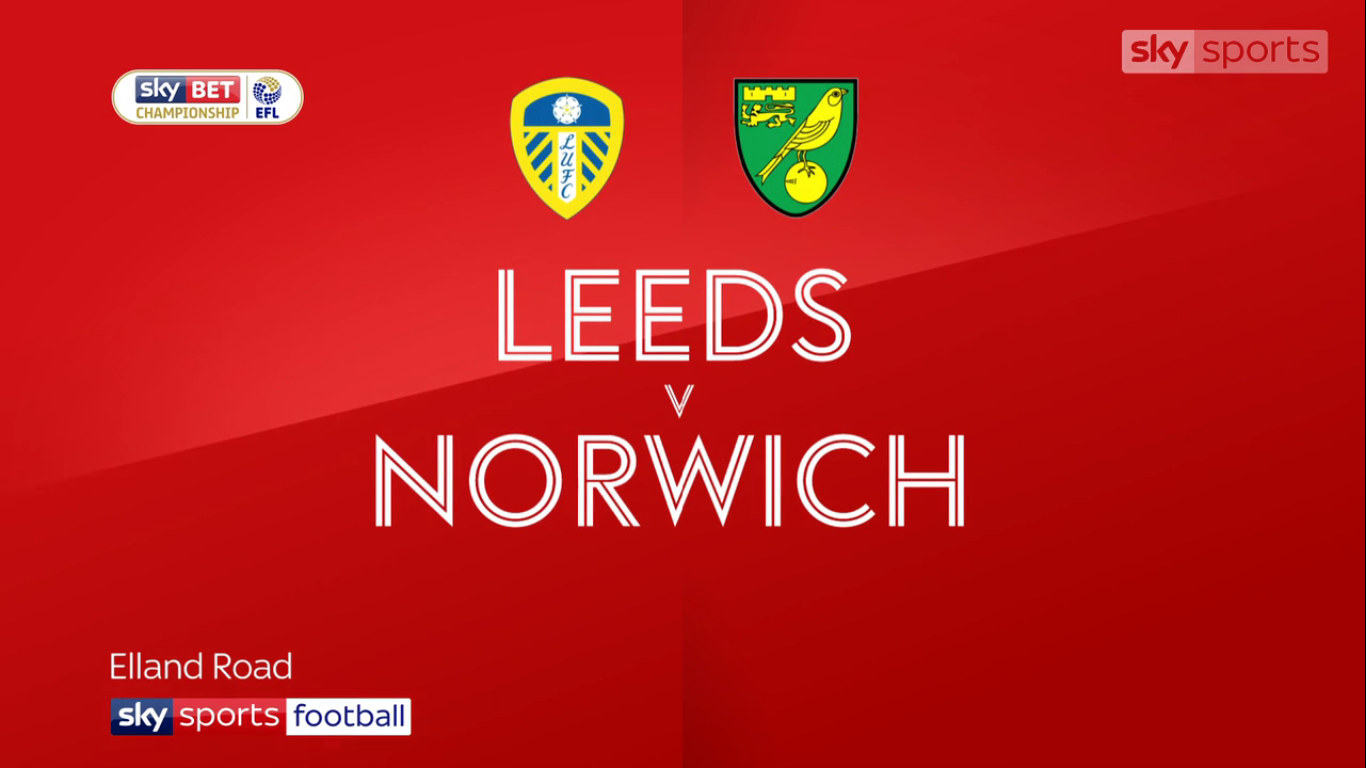 16-12-2017 - Leeds United 1-0 Norwich City (CHAMPIONSHIP)