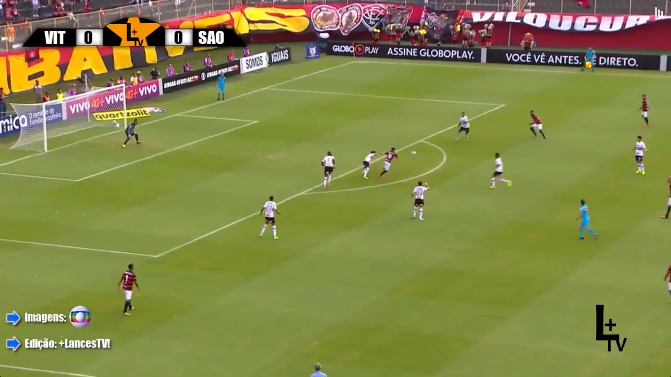 18-09-2017 - Vitoria 1-2 Sao Paulo