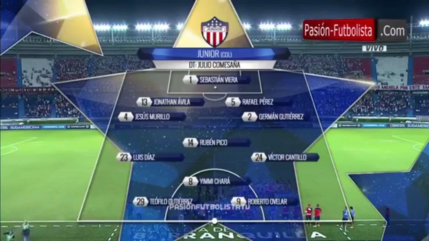 20-09-2017 - Atletico Junior 3-1 Cerro Porteno (COPA SUDAMERICANA)