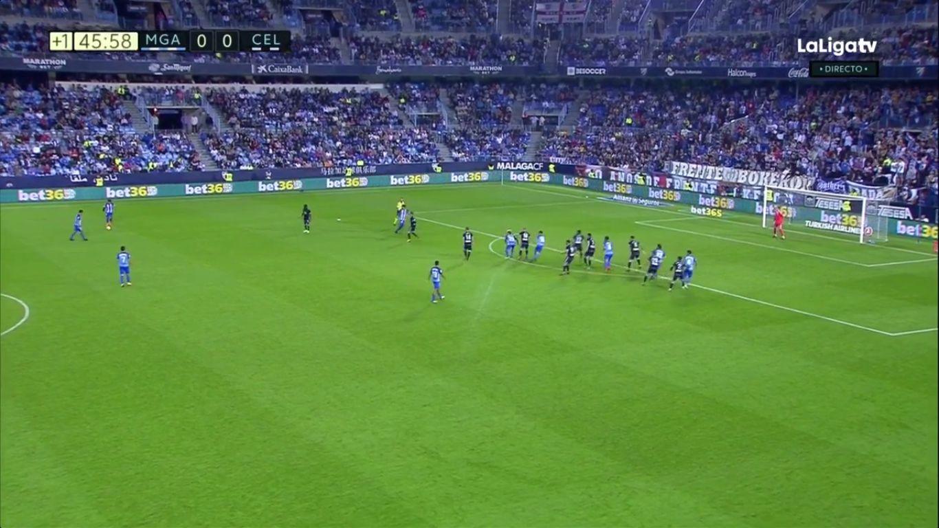 29-10-2017 - Malaga 2-1 Celta Vigo