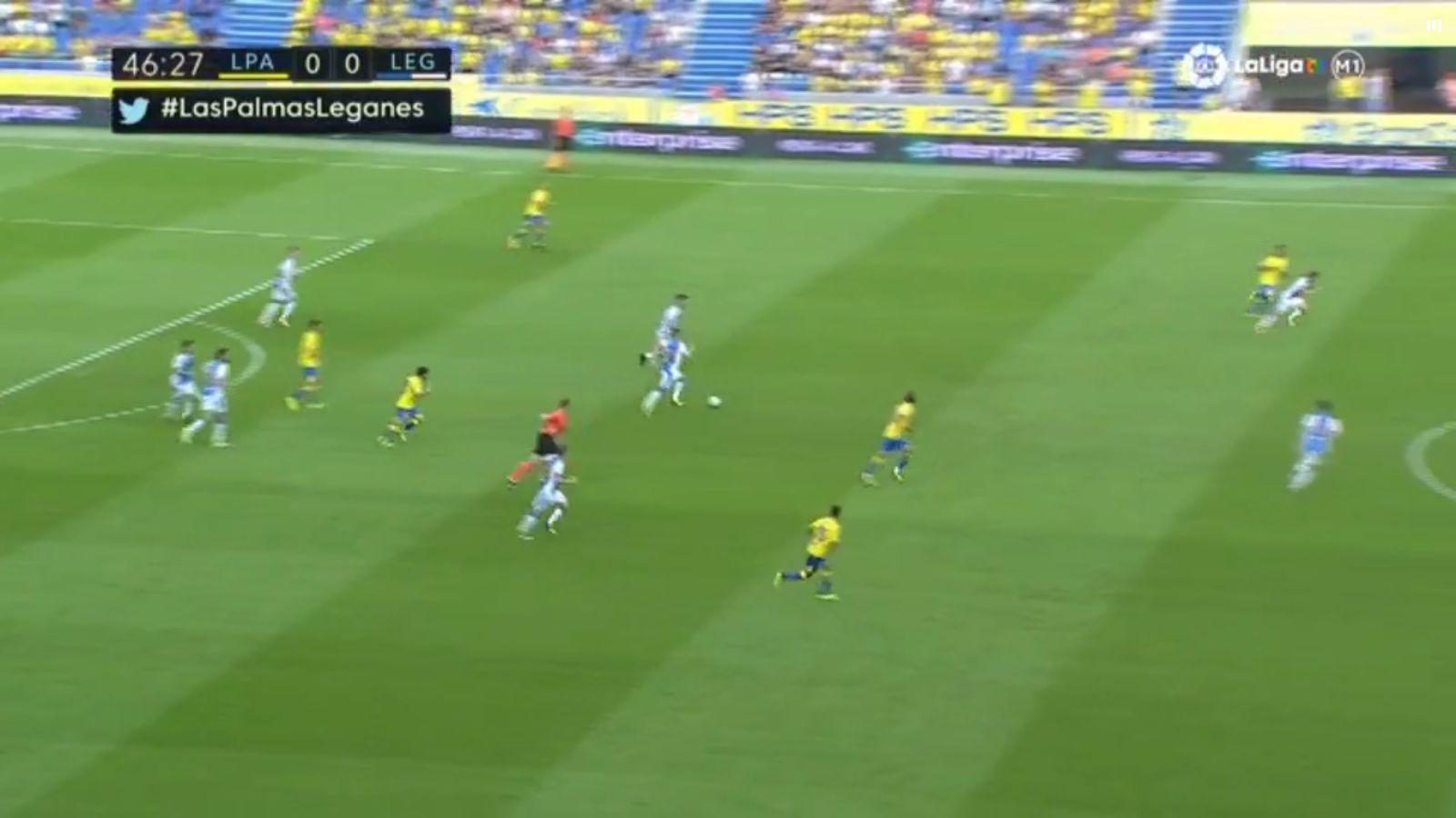 24-09-2017 - Las Palmas 0-2 Leganes