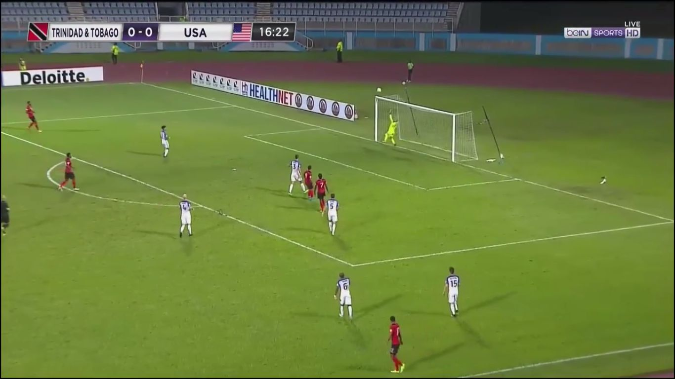 11-10-2017 - Trinidad and Tobago 2-1 USA (WORLD CUP QUALIF.)