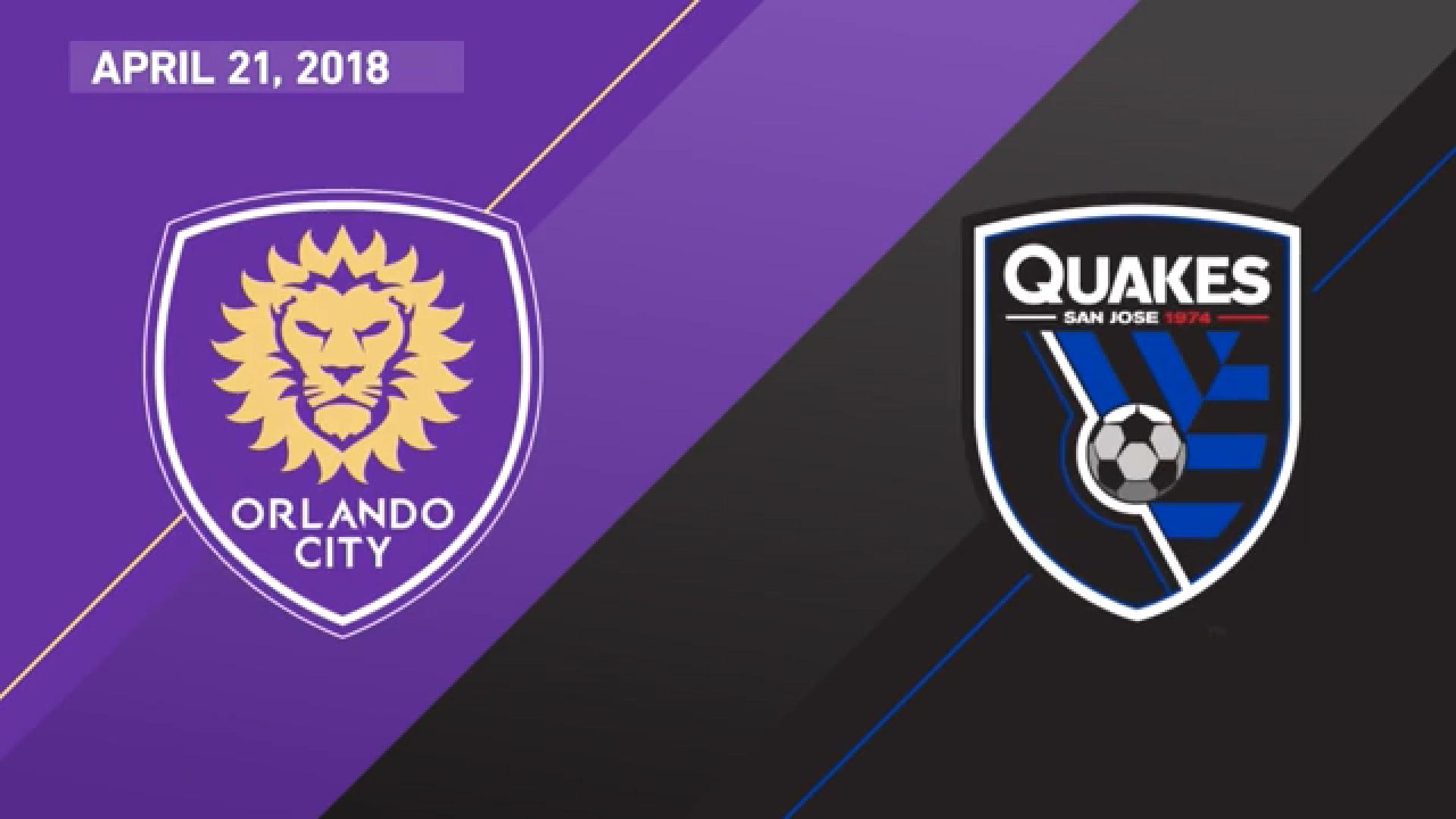 22-04-2018 - Orlando City 3-2 San Jose Earthquakes