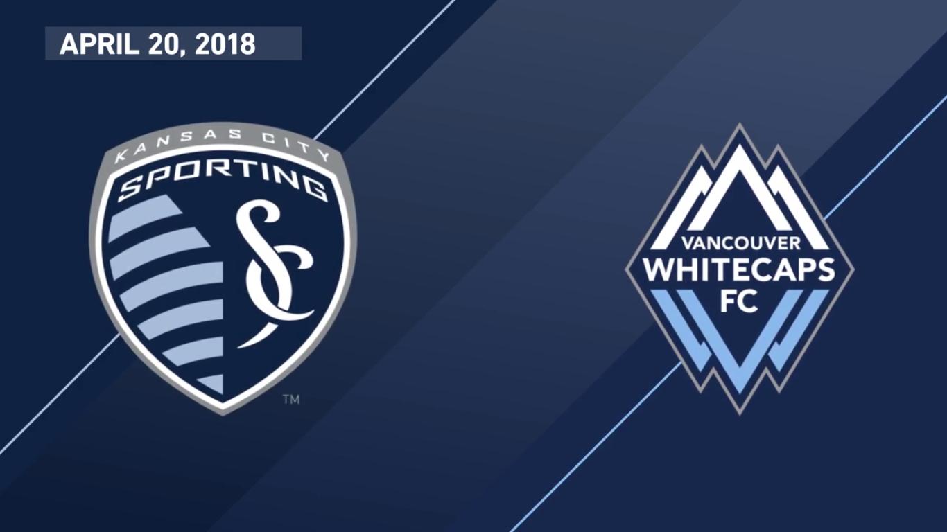 21-04-2018 - Sporting Kansas City 6-0 Vancouver Whitecaps
