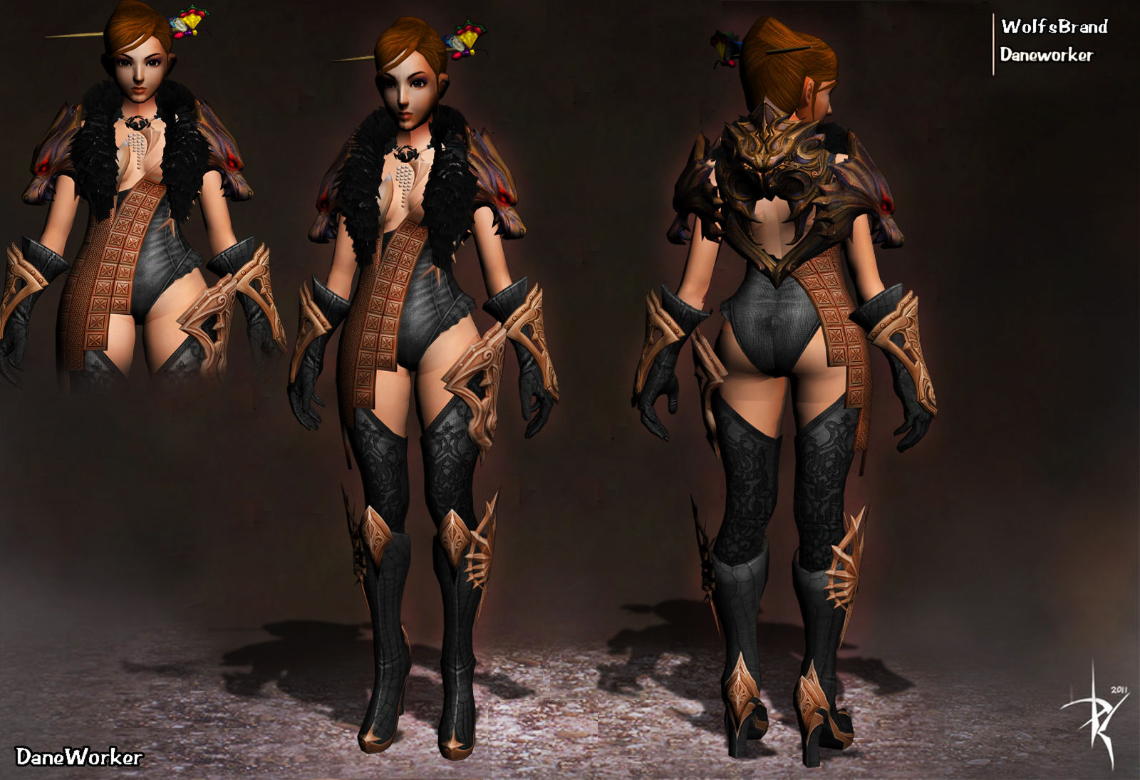 Costume Steampunk Metin2 & Slider_7