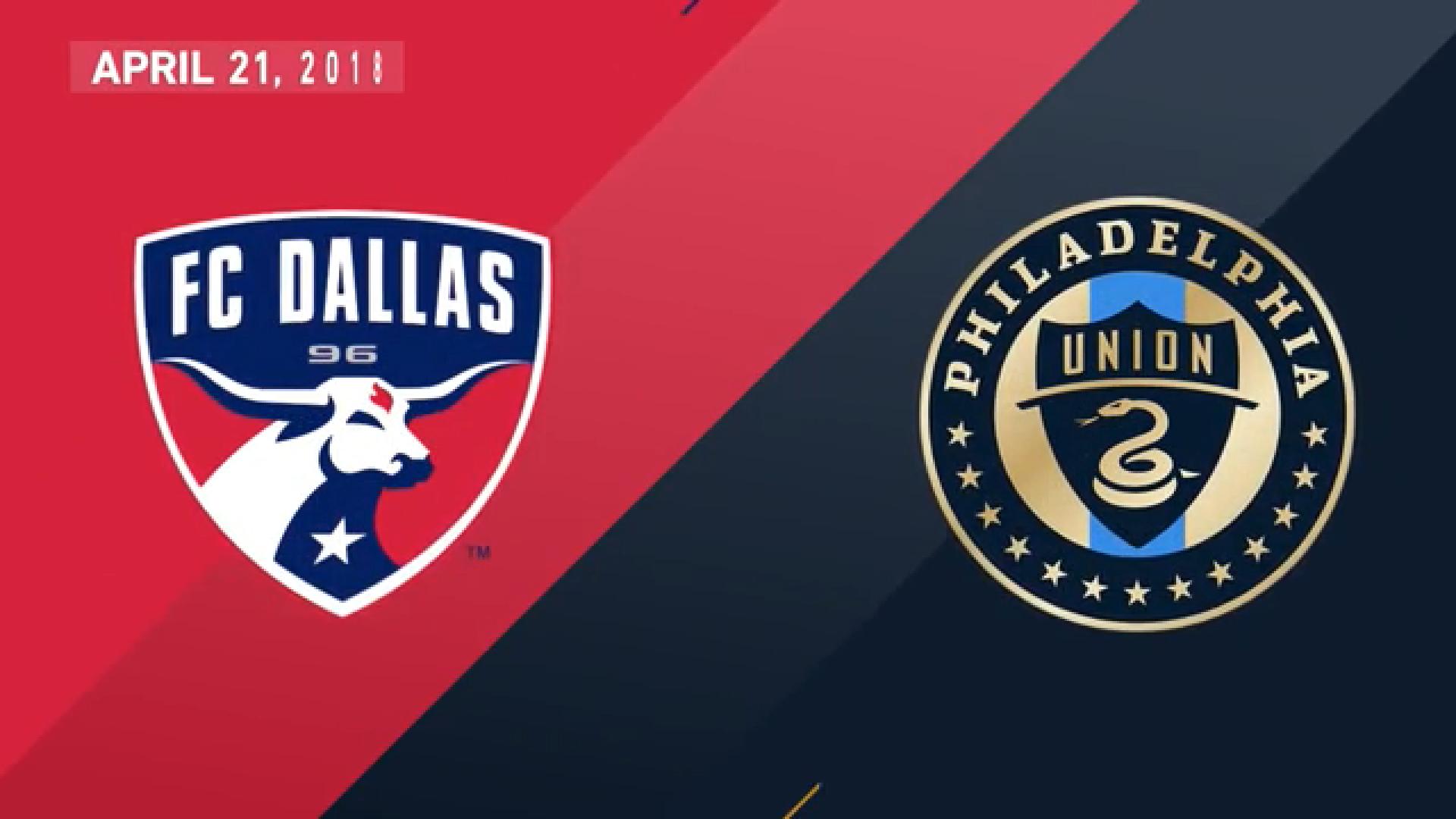 22-04-2018 - FC Dallas 2-0 Philadelphia Union
